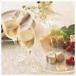シャンパン食卓